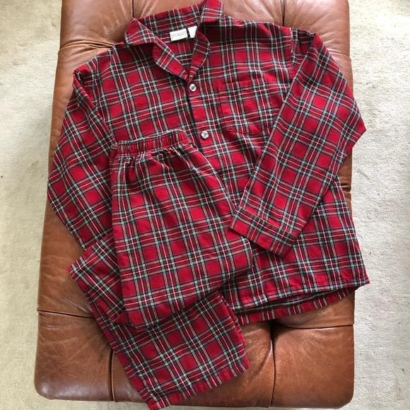 L L Bean Pants Ll Bean Scotch Plaid Flannel Pajamas Mens Large Poshmark